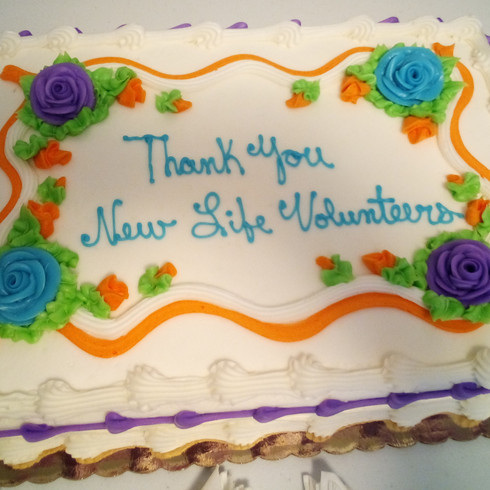 We are grateful for our volunteers!