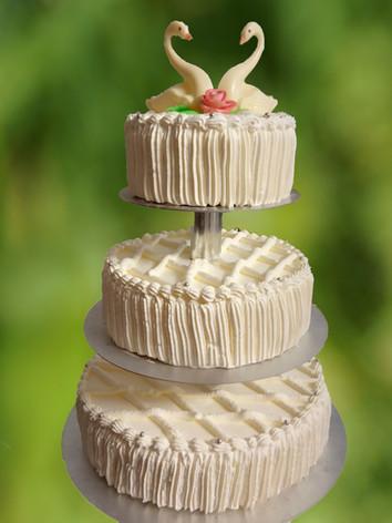 Vielfalt an Hochzeits-Torten