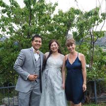 Couple Marry in Queenstown