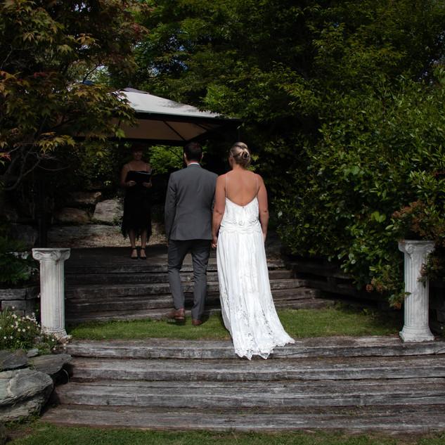 Wedding Ceremony QT Garden