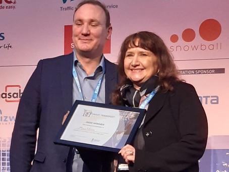 MaaStran Wins Top Industry Award