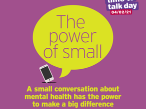 students discuss mental health in time to talk lesson
