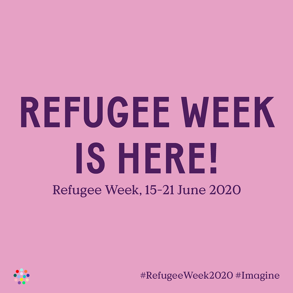 Refugee Week is here #imagine