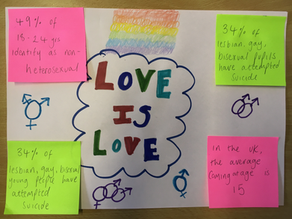 asphaleia young people celebrate LGBTQ+ history month