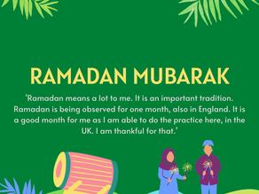 ESOL students create Ramadan display