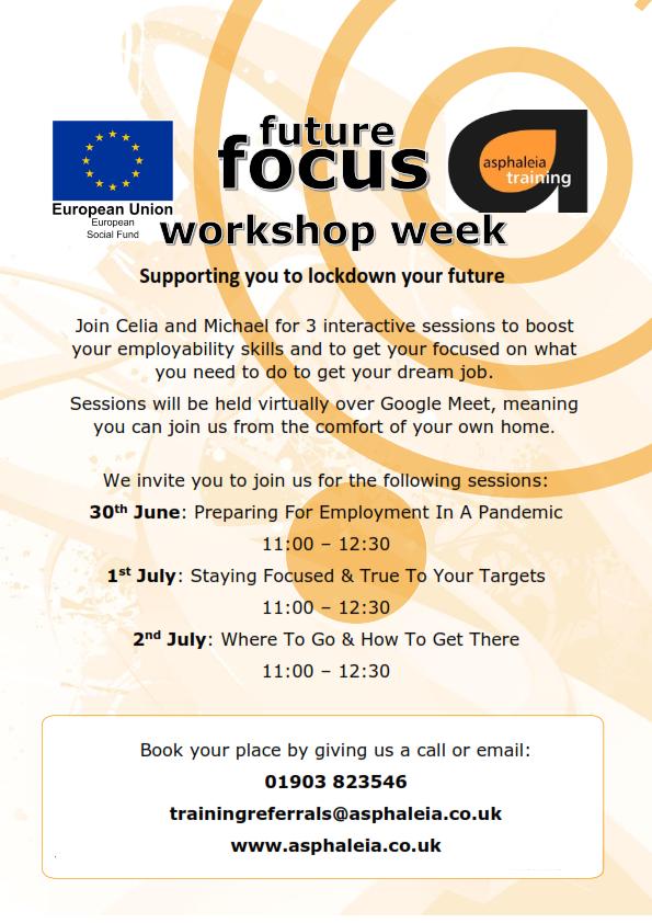 future focus workshop week