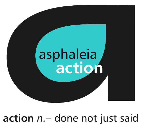 asphaleia action charity logo