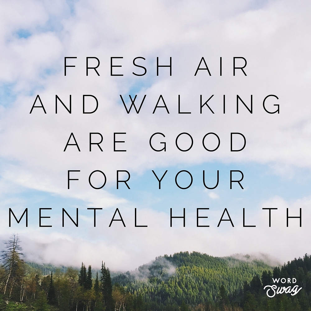 walking is good for your mental health