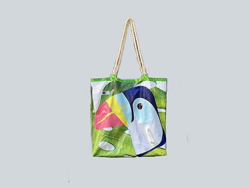 Monster Family Beach Bag - Parrot