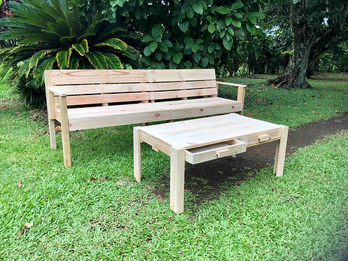 Bench & Coffeetable combo