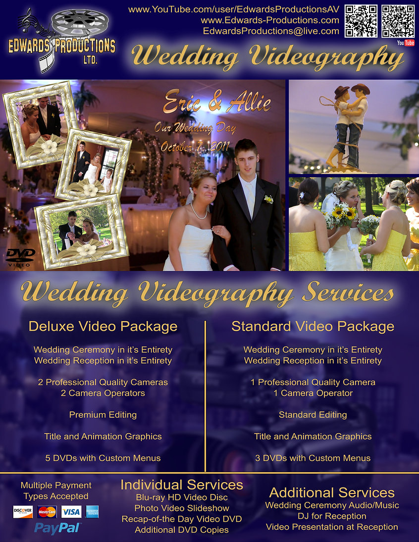 Wedding Video Production in Amherst, Ohio