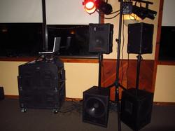 DJ Setup for Reception