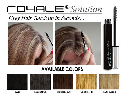 grey hair touch up