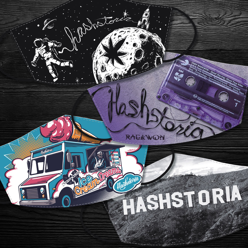 Hashstoria Mask 4-pack