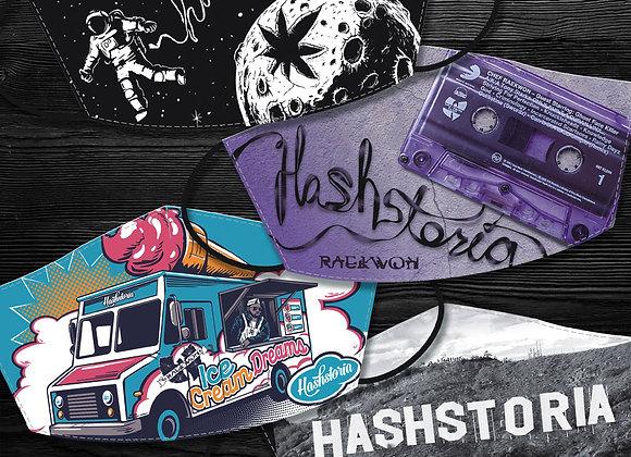Hashstoria Mask - 4 Pack
