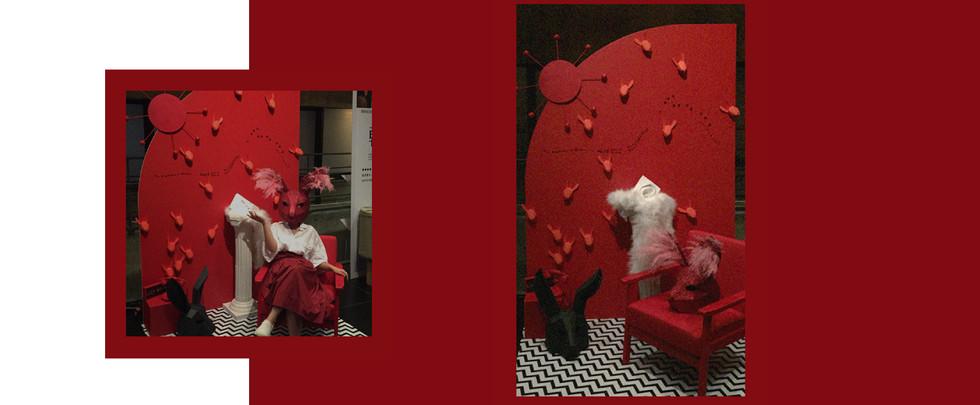 David Lynch X Broadway exhibition set design