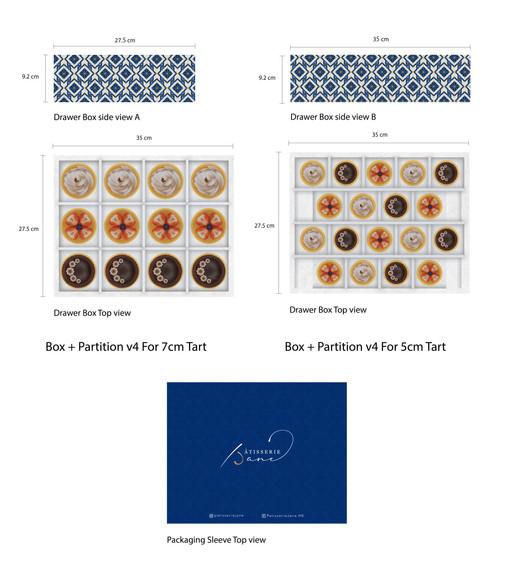 Box + Partition Design Layout