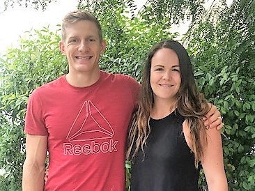 Amie Cox Dietitian and Athlete Brent Fikowski, CrossFit Games 2018