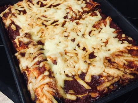 Sweet potato, spinach and ricotta cannelloni