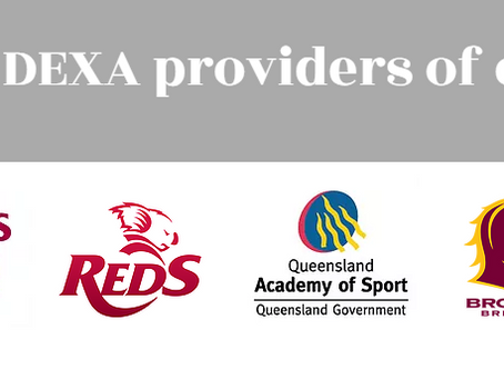 We're now the DEXA partner for the Brisbane Broncos