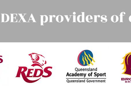 We're now the DEXA partner for the Brisbane Broncos