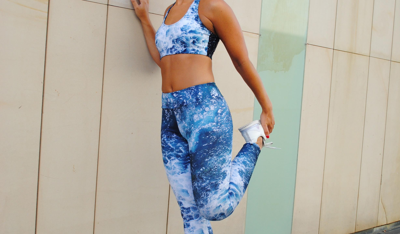 Full leggings and crop
