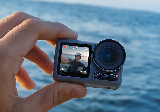 Watch Out, GoPro! Introducing DJI's Osmo Action Camera | Women Who Drone