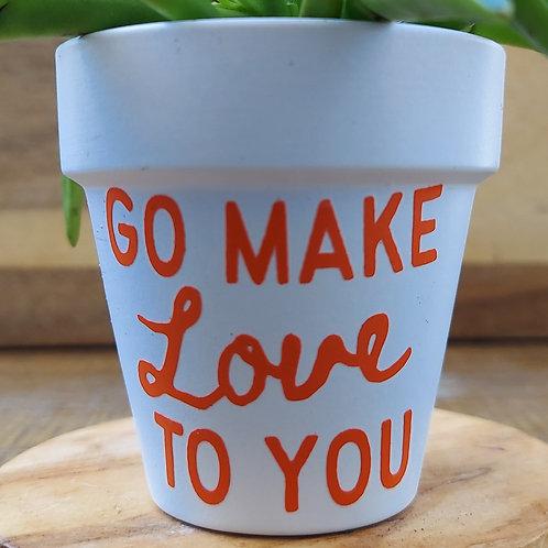 Go Make Love To You Mini - Orange