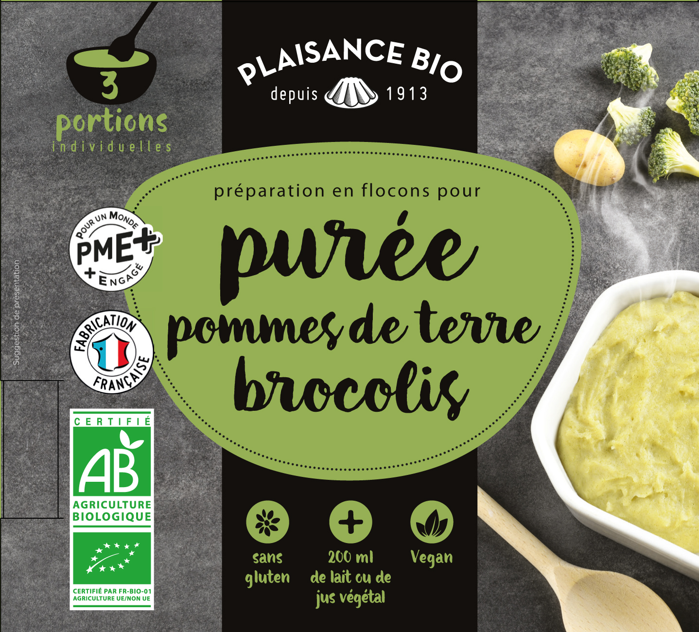 PUREE PDT BROCOLIS PLAISANCE BIO 2019