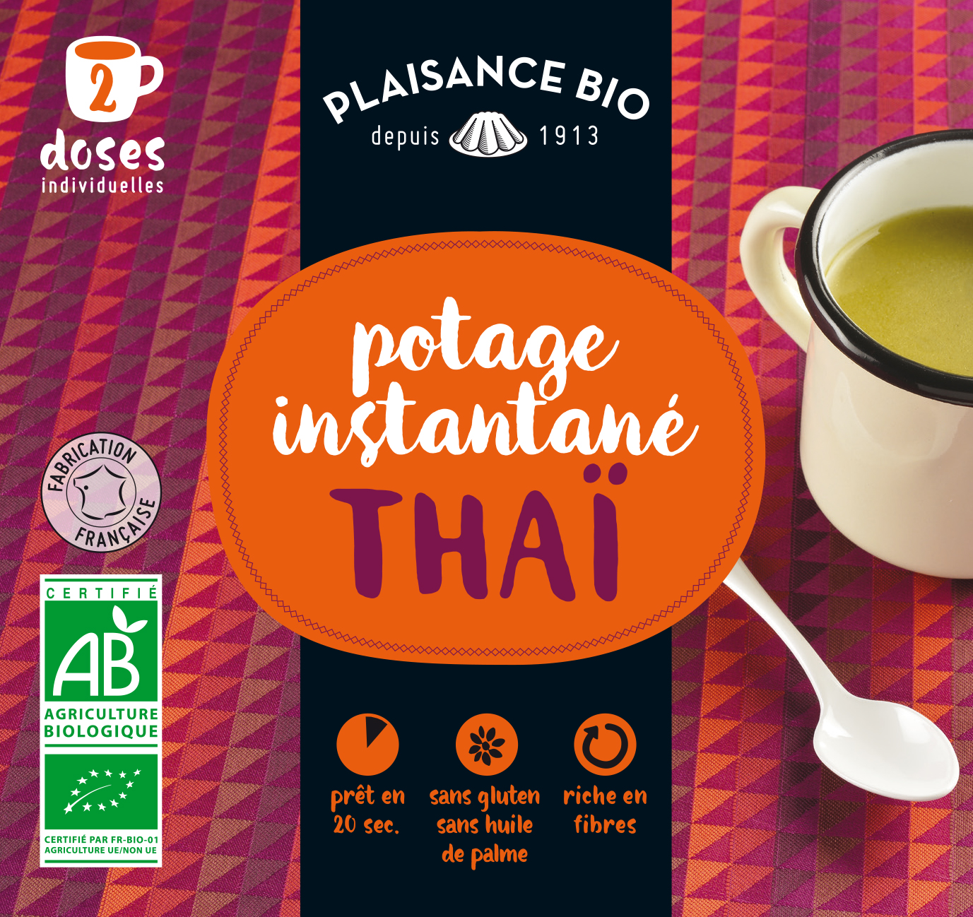 PLAISANCE BIO POTAGE THAI