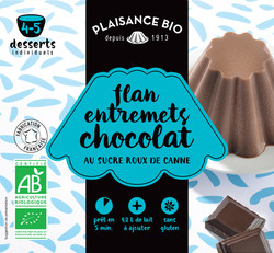 PLAISANCE BIO ENTREMETS SUCRE CHOCOLAT
