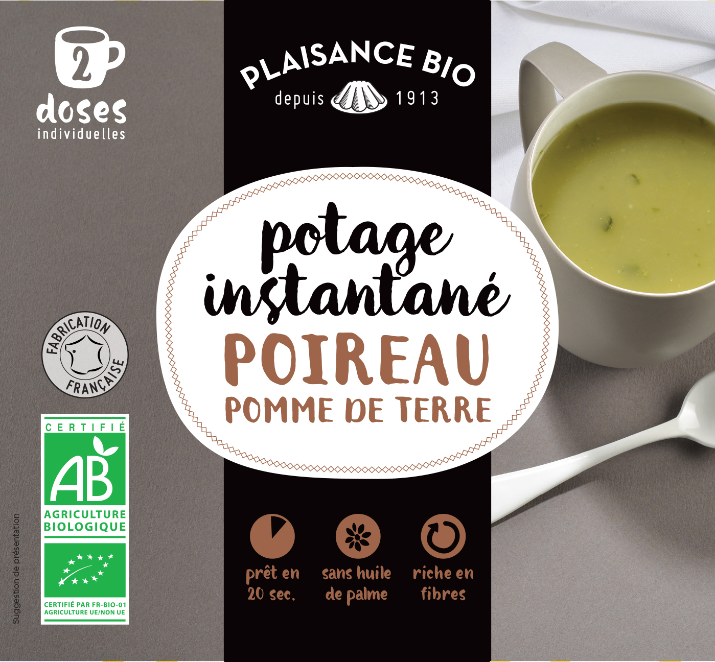 PLAISANCE BIO POTAGE POI PDT