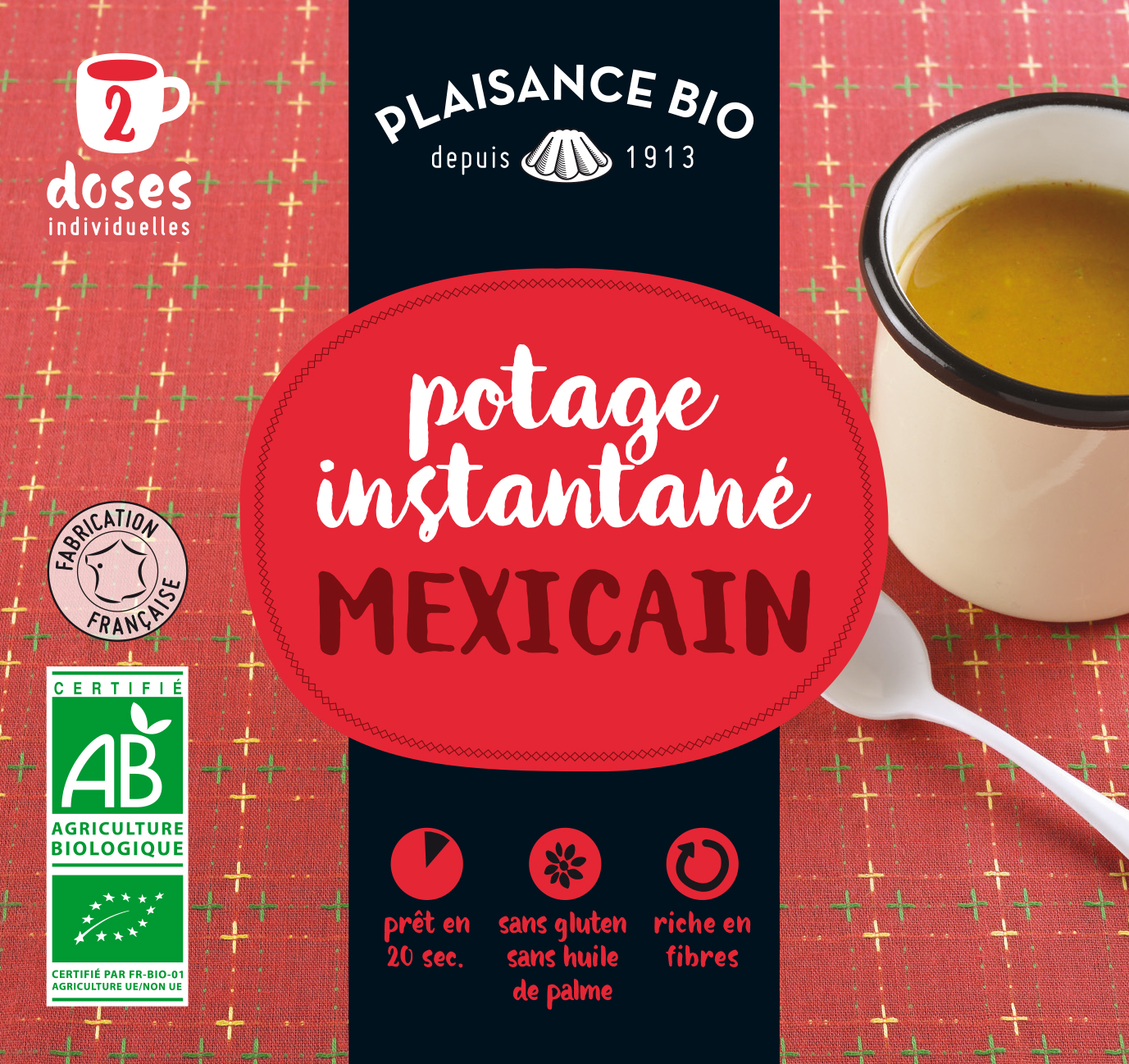 PLAISANCE BIO POTAGE MEXICAIN