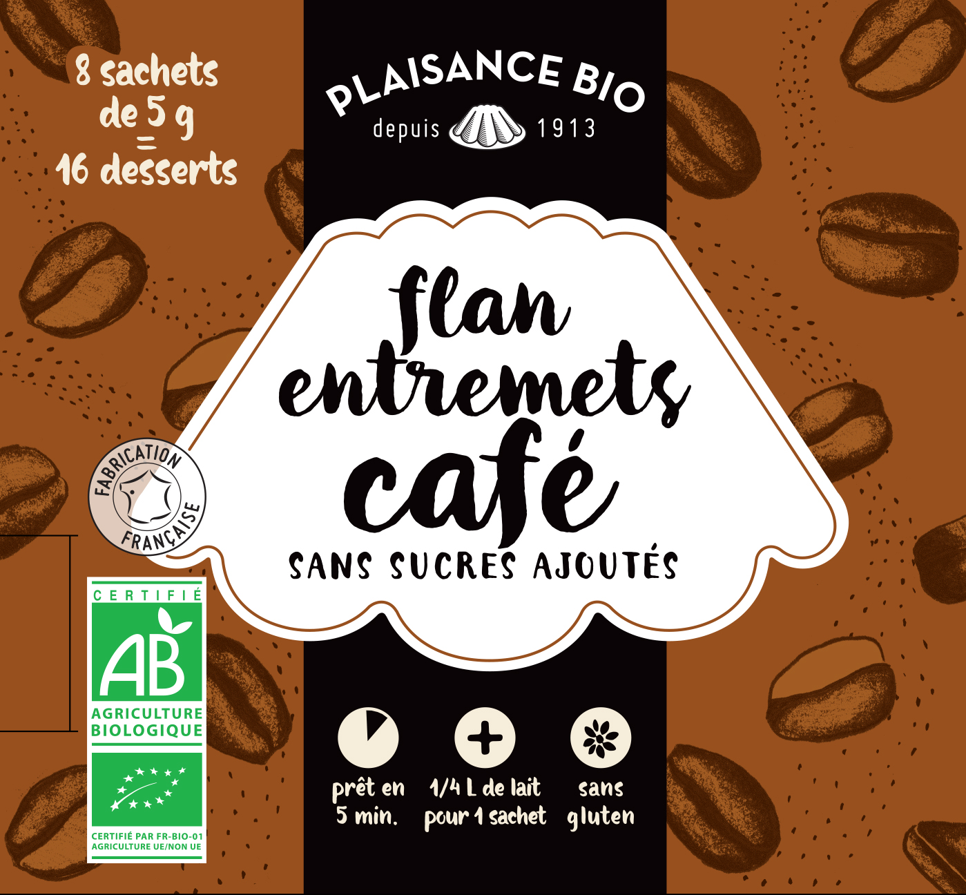 PLAISANCE BIO ENTREMETS NS CAFE