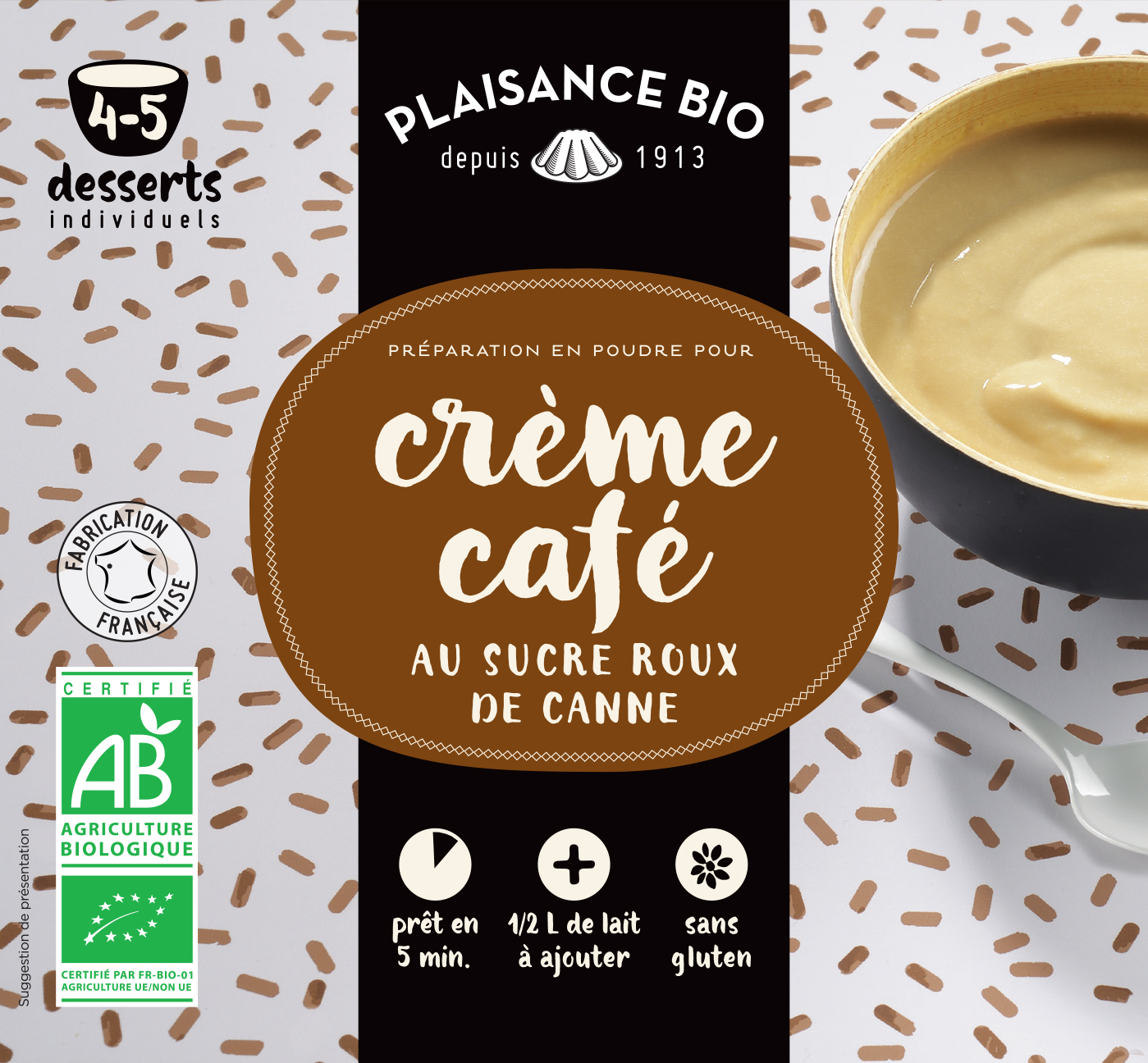 PLAISANCE BIO CREME CAFE
