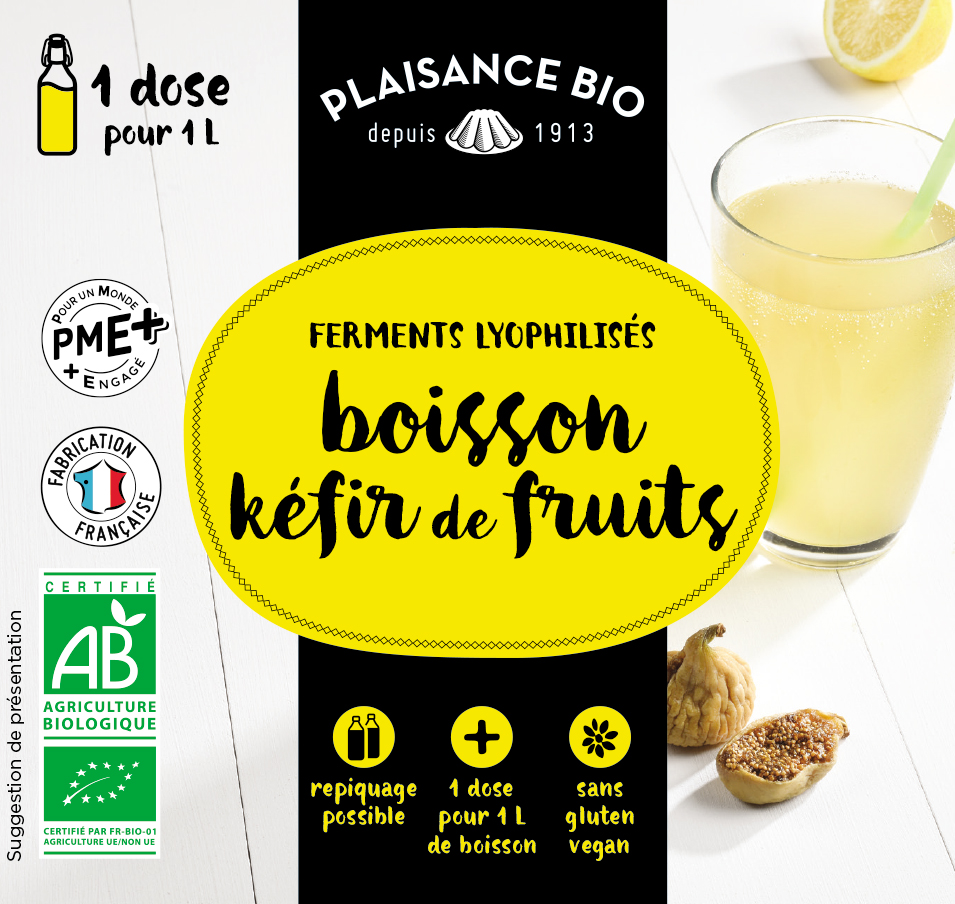 KEFIR DE FRUITS PLAISANCE BIO 2021