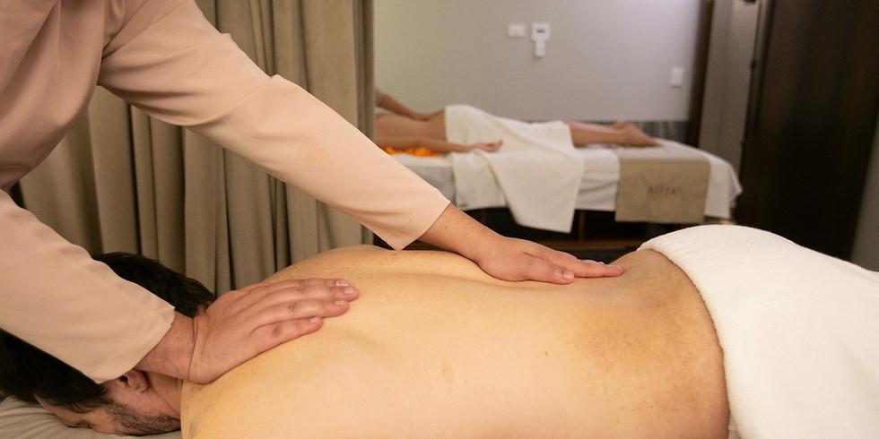 Massagem Relaxante 60 minutos
