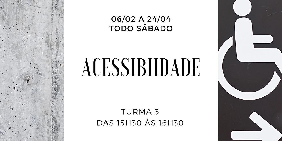 Acessibilidade - Turma 3