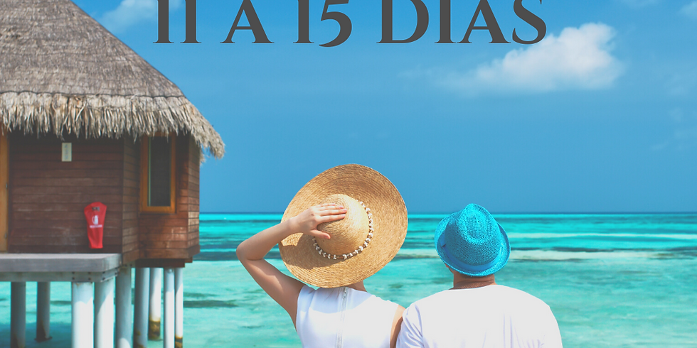 Uma pausa de verdade: viagens de 11 a 15 dias