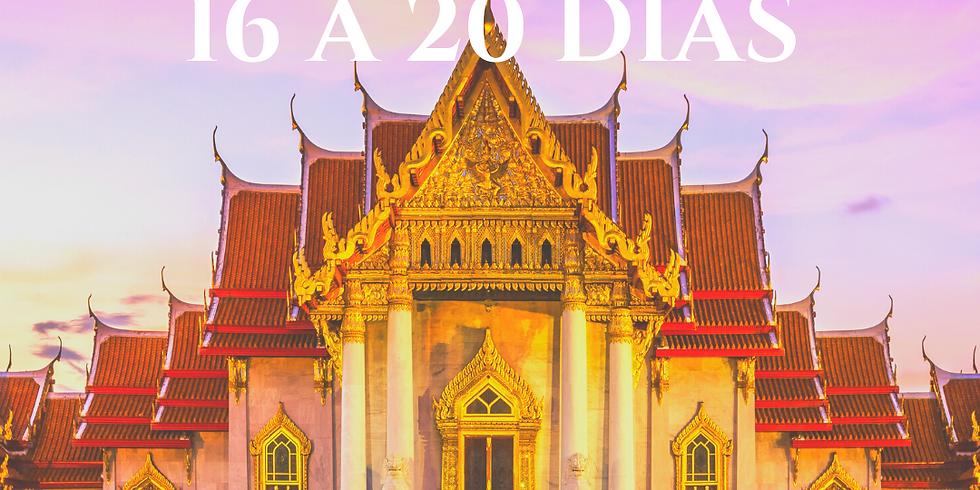 Relaxamento total: viagens de 16 a 20 dias
