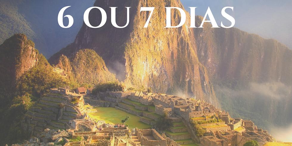 Semana dos sonhos: viagens de 6 a 7 dias