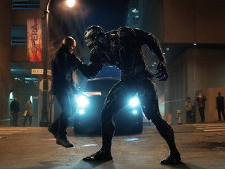 My Review of Venom (2018) starring Tom Hardy, Michelle Williams, Riz Ahmed