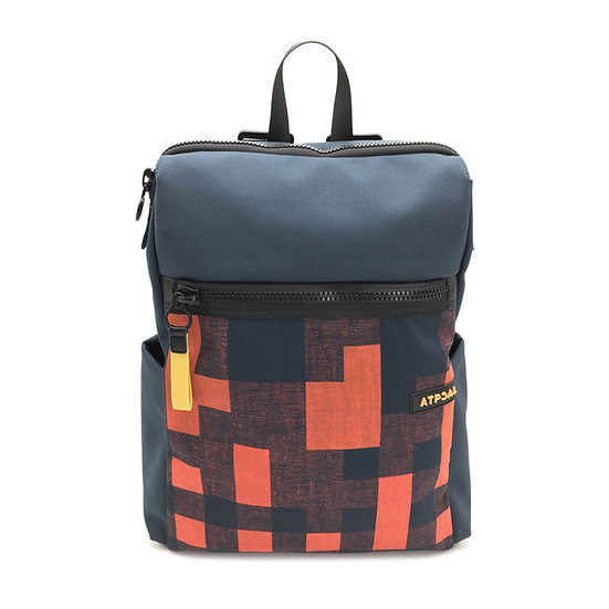 front view urban pack red pixel
