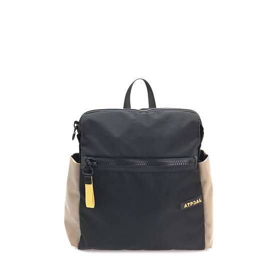 front view lady pack wild cat