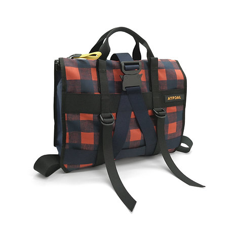 A-Carry Tote RED PIXEL