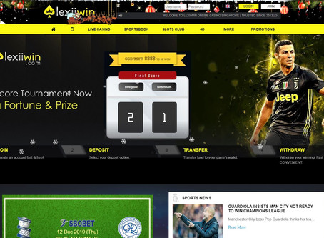 Lexiiwin was a website for Malaysia users to betting with slot, live casino, 4D lottery.
