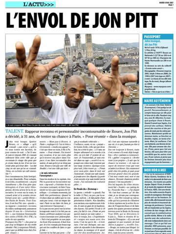 Jon Pitt - Liberté Dimanche (Rouen)