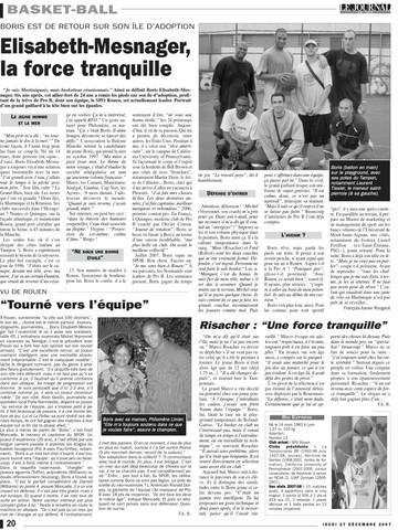 Boris Elisabeth-Mesnager - Journal de l'ïle (La Réunion)