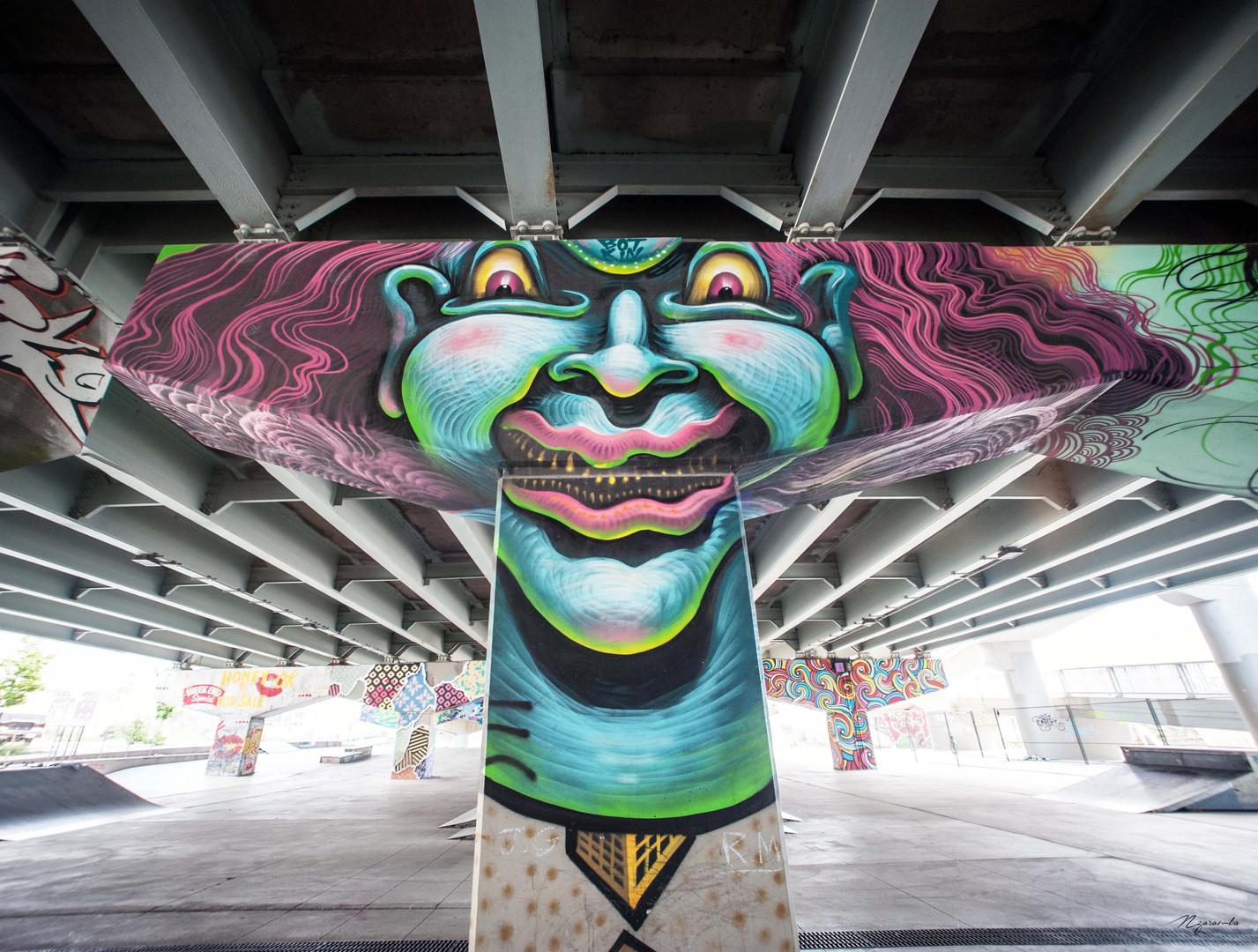 Unknown artist, Toronto, septembre 2017.