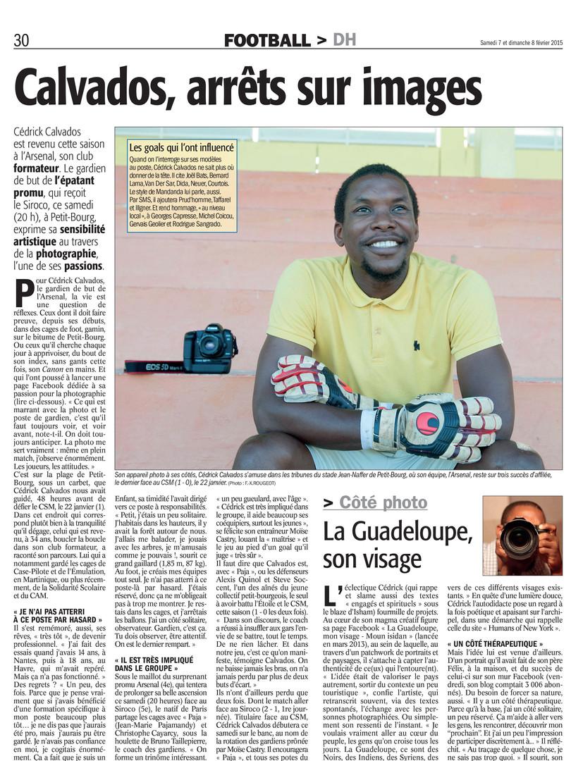 Football - Cédrick Calvados